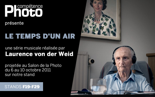 Le temps d'un air, de Laurence von der Weid, projeté au Salon de la Photo