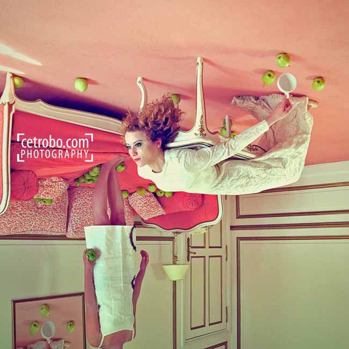 Green apple, pink carpet © Cetrobo.com - Tous droits réservés