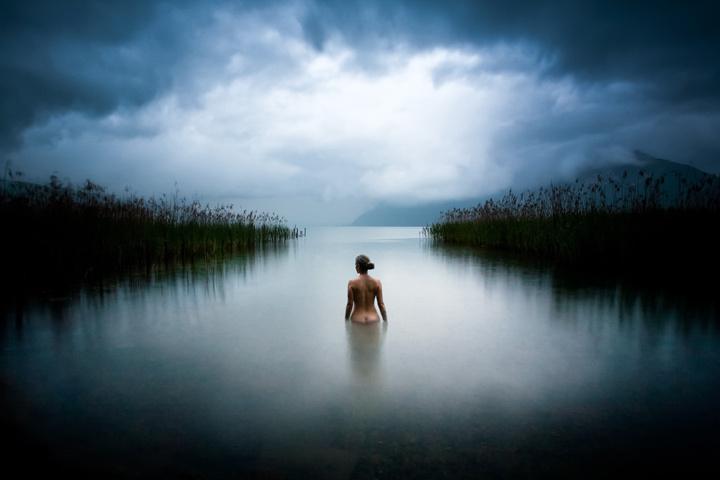 La nymphe du lac • Sébastien Barriol