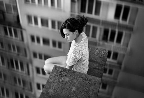 Au fond, on est toujours seul. © David Olkarny