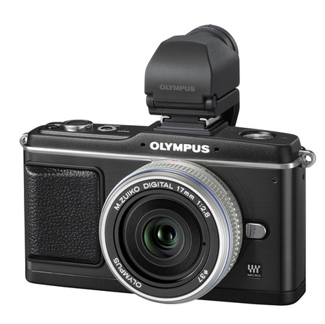 L'Olympus Pen E-P2 équipé de son viseur optique.