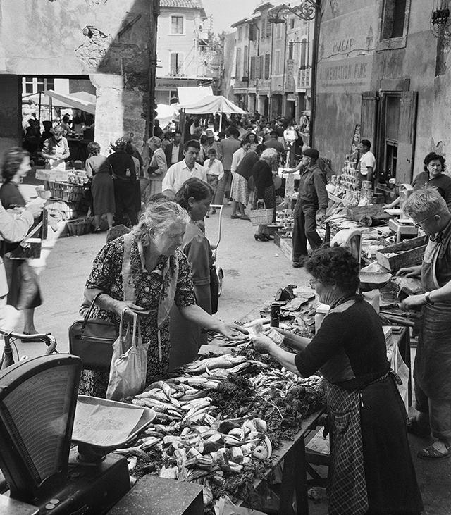 Cavaillon (Vaucluse), 1954