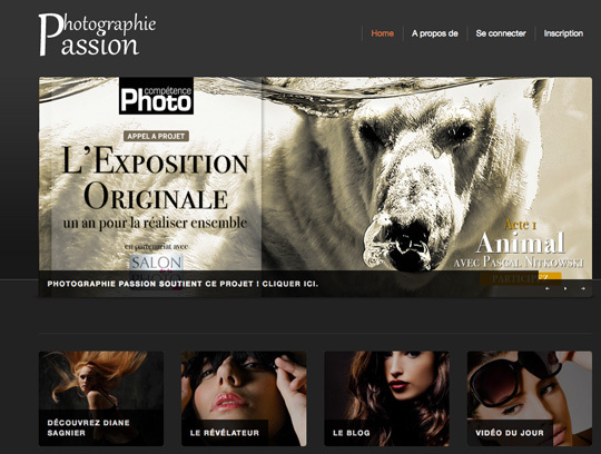 Le site de Photographie Passion