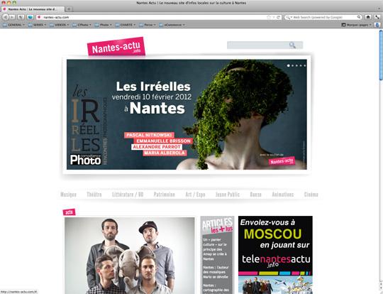 Le site de Nantes Actu