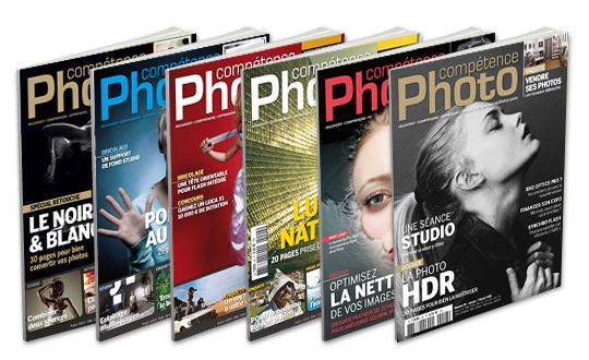 L'abonnement à Compétence Photo disponible dans le monde entier