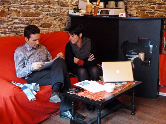 Claudine Coupé et Gérald Vidamment. © Pascal Nitkowski