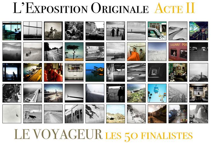 Les 50 finalistes de l'Acte II de L'Exposition Originale