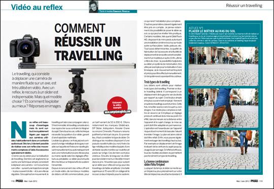Comment réussir un travelling vidéo au reflex