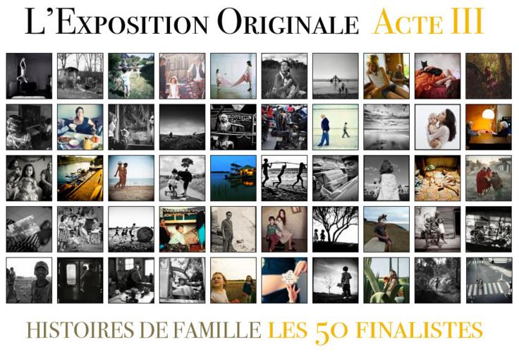 Les 50 finalistes de l'Acte III de L'Exposition Originale