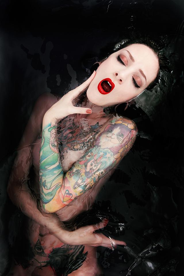 Trouvez l'inspiration dans votre baignoire grâce au photographe Marc Lamey