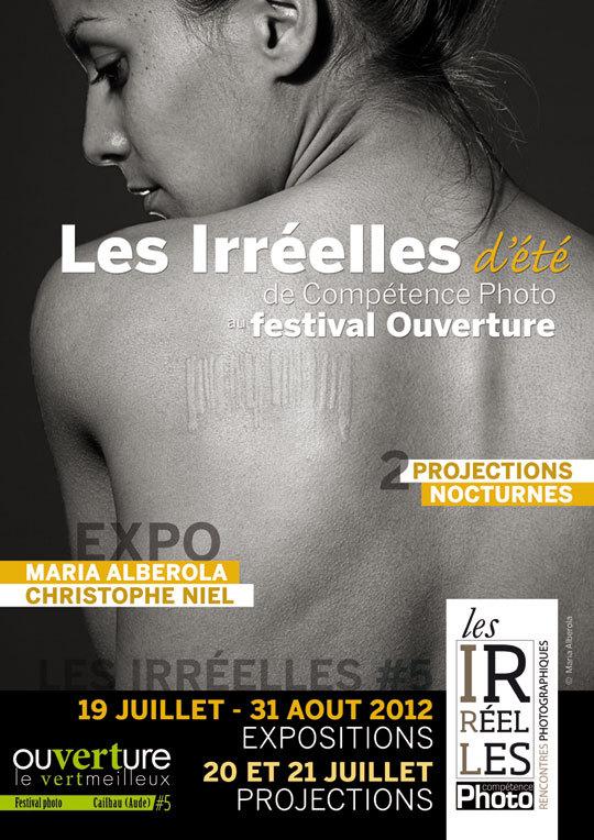 Les Irréelles d'été 2012 • L'affiche officielle