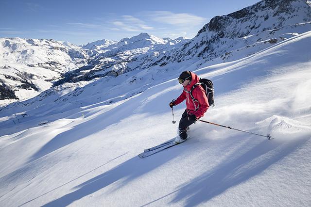 En janvier, réussissez vos photos d'action en montagne grâce à Jérôme Obiols