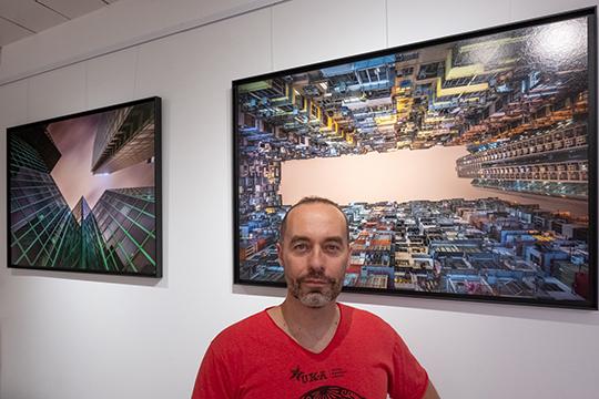 Jérôme Cherrier à La Place des Photographes (Arles) © La Place des photographes