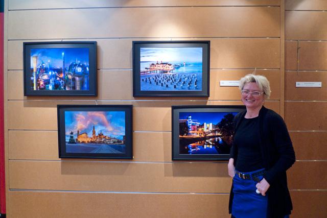 Anke Leichtlein, lauréate du Prix de la Ville • Photo © Gérald Vidamment