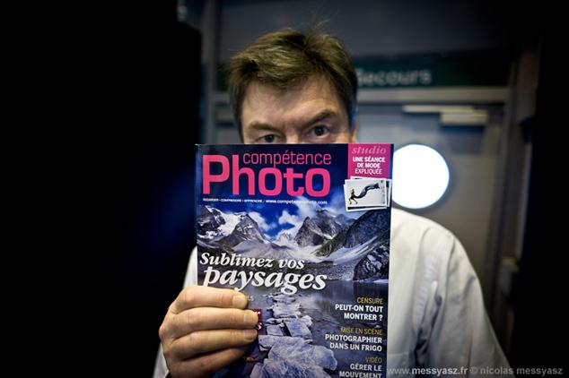 Mikkel Franck, éditeur du magazine © Nicolas Messyasz