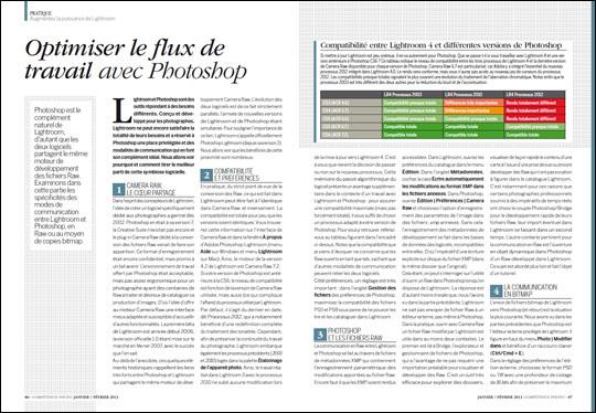 Compétence Photo Numéro 32, en kiosque le 4 janvier 2013