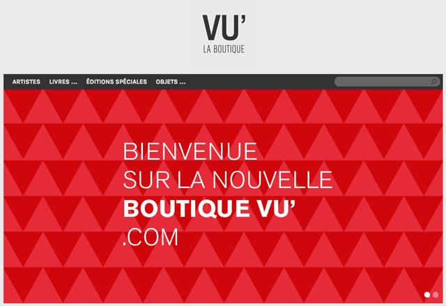 L'Agence VU' ouvre une boutique en ligne unique en son genre