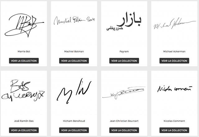 De grandes signatures de la photographie