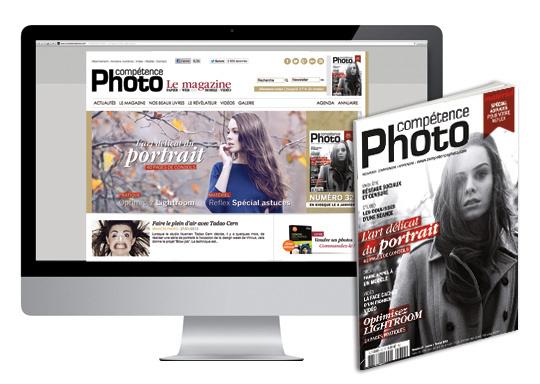 Une nouvelle identité visuelle pour le site de Compétence Photo