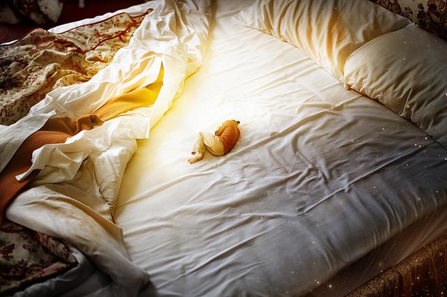Autoportrait au lit et à l'étoile, de Tilby Vattard • Hôtel du Panthéon (mai 2012)