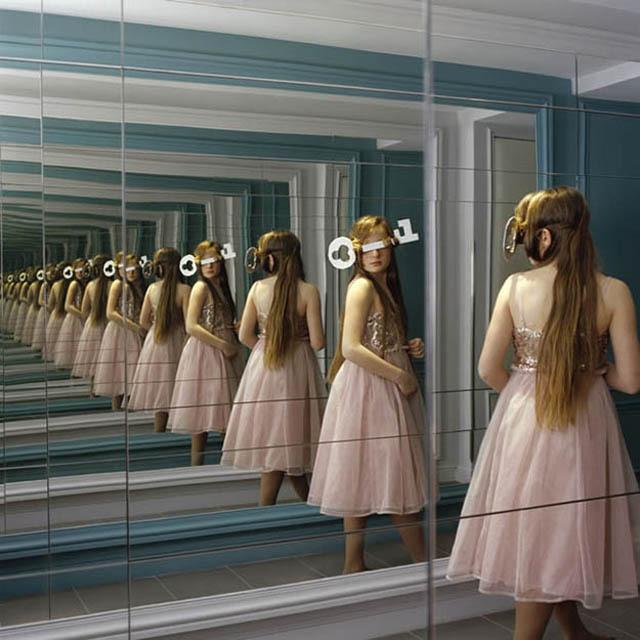Sans titre, de Cécile Henryon • Hôtel La Belle Juliette (janvier 2012)