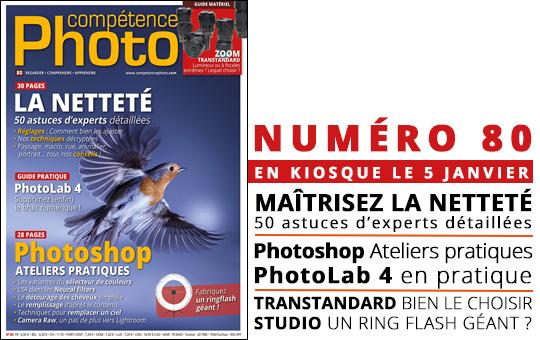 Compétence Photo Numéro 80, en kiosque le 5 janvier 2021