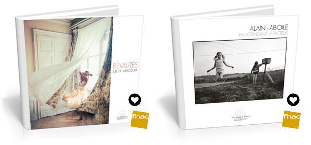 Coups de coeur des libraires de la Fnac pour les livres de Julie de Waroquier et d'Alain Laboile