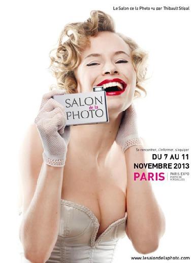 L'affiche officielle du Salon de la Photo 2013 - www.lesalondelaphoto.com