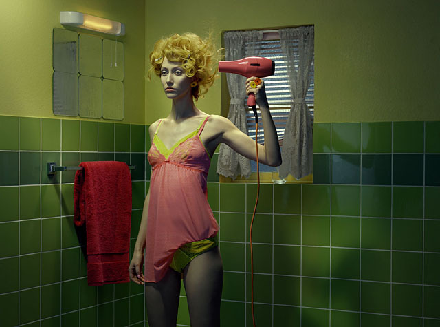 Chromo Thriller #3, 2012 © Miles Aldridge - Tous droits réservés