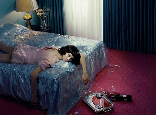 Chromo Thriller #2, 2012 © Miles Aldridge - Tous droits réservés