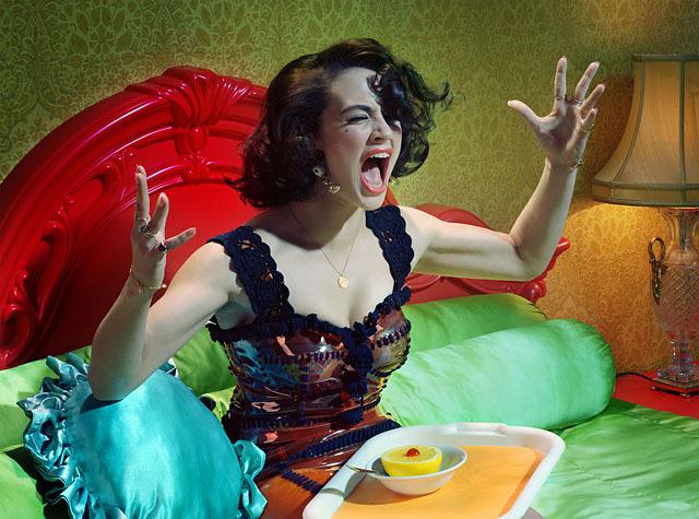 Actress #6, 2012 © Miles Aldridge - Tous droits réservés