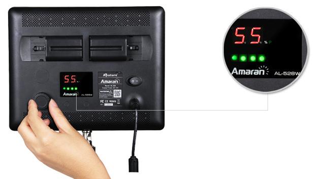 Aputure Amaran LED Light AL-528w