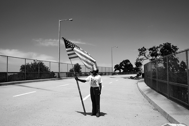 Un sans-abri à Fresno, États-Unis 2011 © Paolo Pellegrin / Magnums Photos / Postcards from America