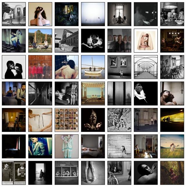 """Les 50 photographies finalistes de l'appel à concours """"Huis-clos Le couple"""""""