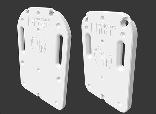 Téléchargez gabarit et fichiers 3D pour fabriquer un plateau de stabilisation (fabrication traditionnelle et impression 3D)