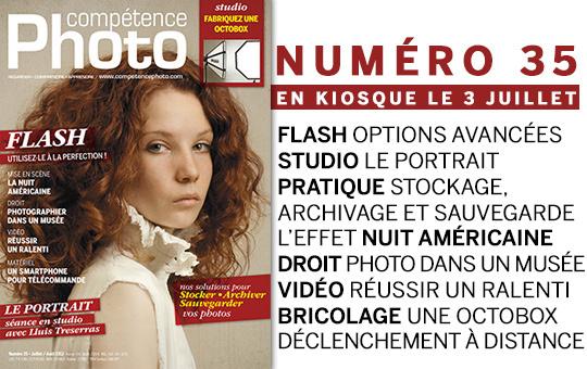 Compétence Photo Numéro 35, en kiosque le 3 juillet 2013