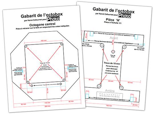 Fabriquer une boîte à lumière octogonale (octobox)