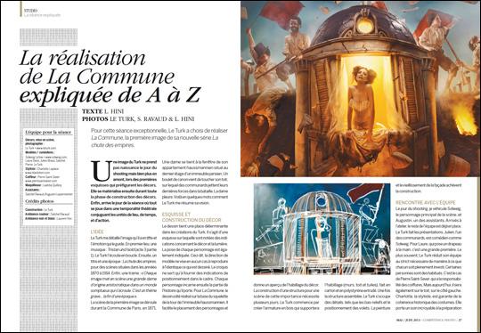 """La collection """"Le Chat noir"""", vue par le photographe Le Turk et Frédéric Rozot"""