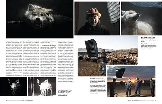 Mongolie : sur les traces des nomades, par Rémi Chapeaublanc (publié dans Compétence Photo Voyage)