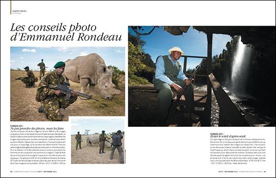 Kenya : l'autre visage du Kenya, par Emmanuel Rondeau (publié dans Compétence Photo Voyage)