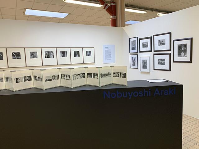 Nobuyoshi Araki au Festival du Regard 2021 (sur les murs : Ralph Eugene Meatyard)