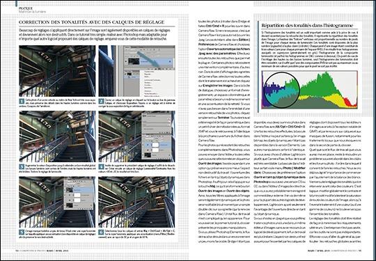 Le dossier Maîtrisez la lumière, publié dans Compétence Photo n°39