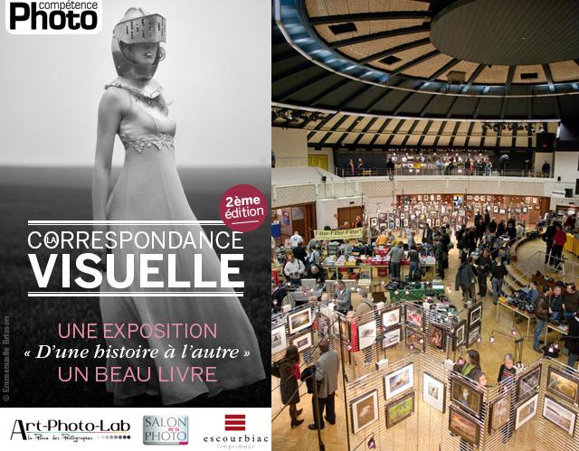 La Correspondance Visuelle 2e édition exposée au Salon International de la Photo de Riedisheim
