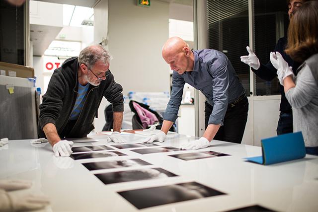 Michel de Picto et Jimmy Nelson © JC Milhet