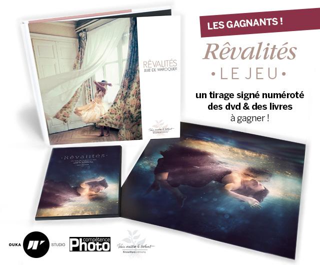 """Les gagnants du concours """"Rêvalités - Le Jeu"""""""