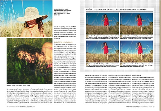 """Dossier """"Réussir ses portraits par tous temps"""" • Compétence Photo n°42"""