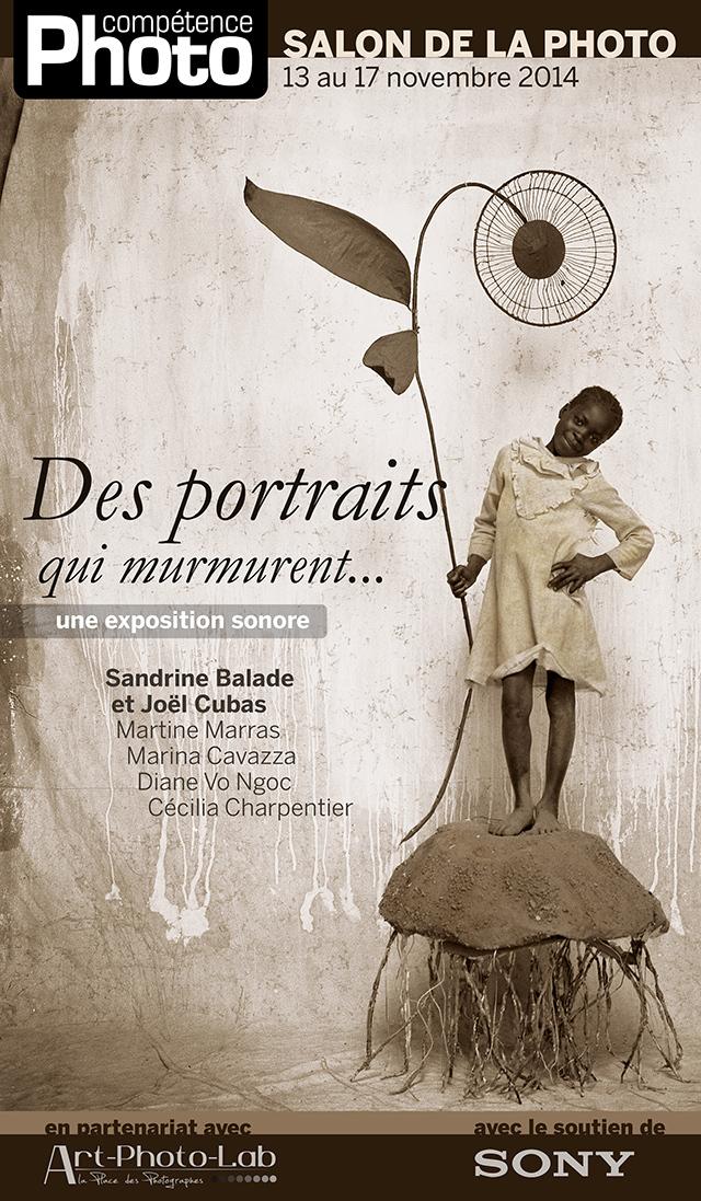 """La série """"Je fais mon cinéma"""" de Sandrine Balade et Joël Cubas exposée sur le stand de Compétence Photo"""