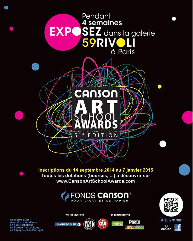 Participez à la 5e édition des Canson Art School Awards, en partenariat avec Compétence Photo