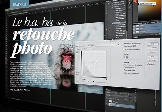 """Téléchargez les photos du dossier """"Le b.a.-ba de la retouche photo"""" (guide pratique) - Compétence Photo n°44"""