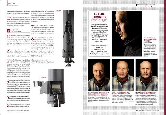 Comment fabriquer un tube lumineux pour la réalisation de portraits en studio ?
